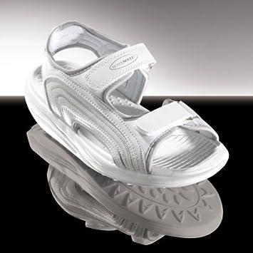 Walk Maxx Fitness Sandale Gr. 45 Sandalette Gesundheitsschuhe Schuhe weiss 818f6b9d76