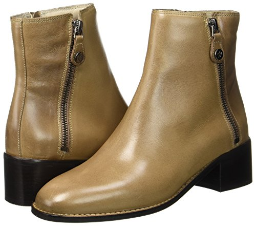 Bootie Heel Mid O'polo Marrón Marc Botas taupe 70714166101101 Para Mujer W8EtFxTFn