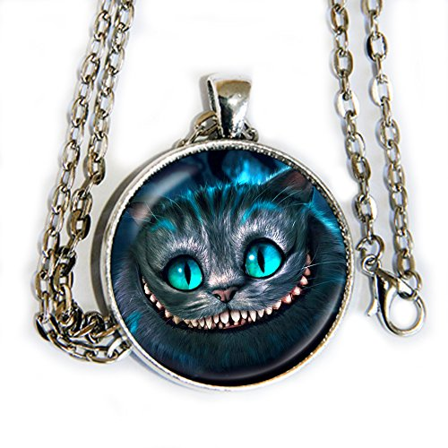 Queen Of Felines Cat Costumes (Cheshire Cat - pendant necklace - Alice in Wonderland - HM)