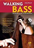 Walking Bass inkl. 3 CDs: Step by Step zu Jazz- & Latin-Basslinien