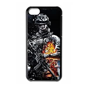 iphone5c Black phone case battlefield WCT4287494