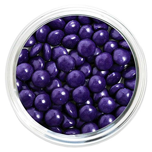 Candy Coated Chocolate Gems - Purple (2.5 lb bag) ()