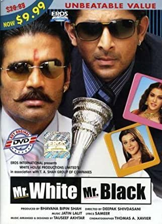 Amazon Mr White Black 2008 Hindi Film Bollywood Movie