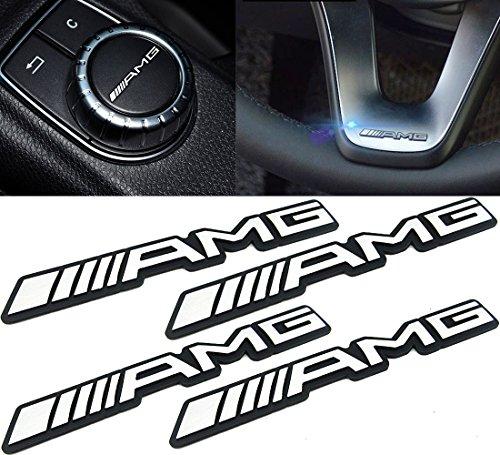 [해외]Deselen LP-BS17P - 벤츠에 대한 Mercedes Benz AMG 자동차 엠블럼 크롬 스티커 데칼 배지 라벨링/Deselen LP-BS17P - Mercedes Benz AMG Car Emblem Chrome Stickers Decals Badge Labeling for Benz