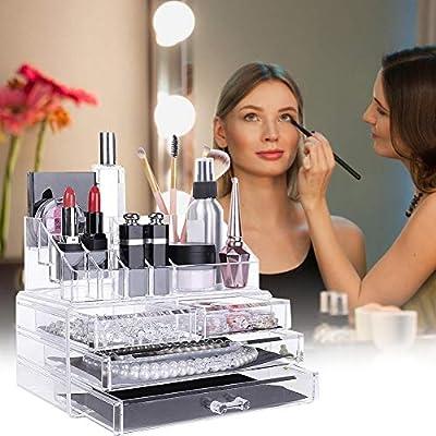 popchilli Caja Acrílica Estante De Maquillajes Maquillaje ...