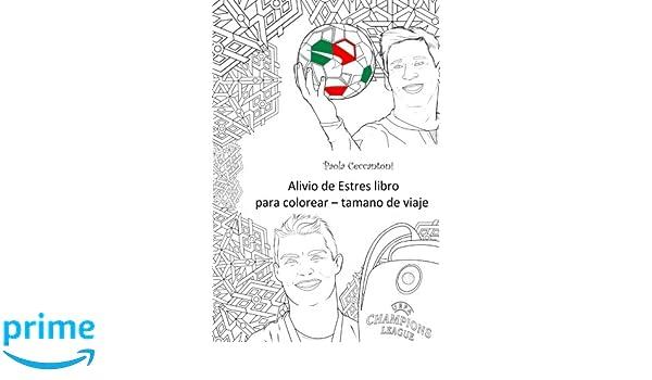Amazon.com: Alivio de Estres libro para colorear - tamano de viaje ...
