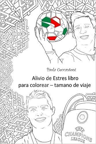 Amazon.com: Alivio de Estres libro para colorear   tamano de viaje