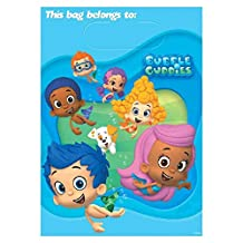 Bubble Guppies Loot Bags, 8 Birthday Party Gift Bags
