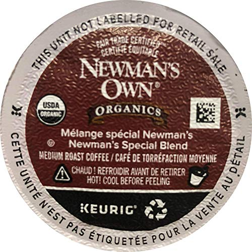 - Newman's Own Special Blend Coffee, Medium Roast Coffee K-Cup Portion Pack for Keurig K-Cup Brewers (Pack of 80, net wt. 32.1 oz.)