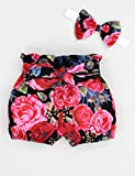 Baby Girl Clothes Ruffle Shortsleeve Romper Floral