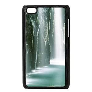 QSWHXN Phone Case Waterfall,Customized Case For Ipod Touch 4