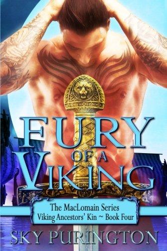 Fury of a Viking: The MacLomain Series: Viking Ancestors' Kin, Book 4