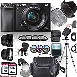 Sony Alpha a6000 (Black)E-Mount Mirrorless Camera with Sony E...