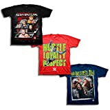 WWE Boys' Big Boys' 3 Pack T-Shirt