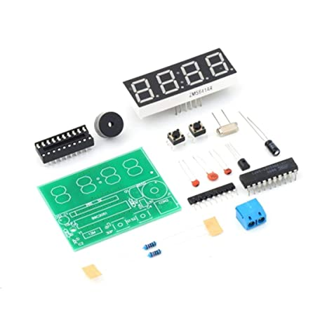 137161a603ac Laurelmartina YSZ-4 3V-6V C51 4 bits Reloj electrónico Digital Suite de  producción
