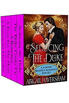 Seducing Duke 4 Book Regency Romance ebook product image