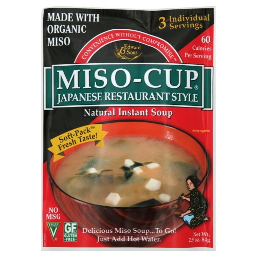 Miso-Cup Japanese Restaurant Style 2.9-Ounce Pouch (Pack of 6) - Pack Of 6