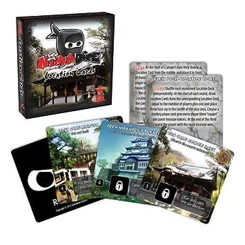 Amazon.com : Ninja Dice Location Card Expansion Action Game ...