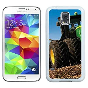 Beautiful And Unique Designed Case For Samsung Galaxy S5 I9600 G900a G900v G900p G900t G900w With John Deere White Phone Case