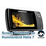 Tuff Protect Clear Screen Protectors for Humminbird Helix 7 Fish Finder Screen
