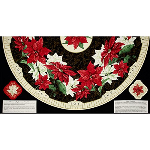 Christmas Tree Skirt Panel Fabric