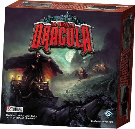 Giochi Uniti La Furia di Dracula - Juego de Tablero: Amazon.es: Juguetes y juegos