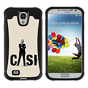 ZAAAZ Rugged Armor Slim Protection Case Cover Durable Shell - CASI - Samsung Galaxy S4