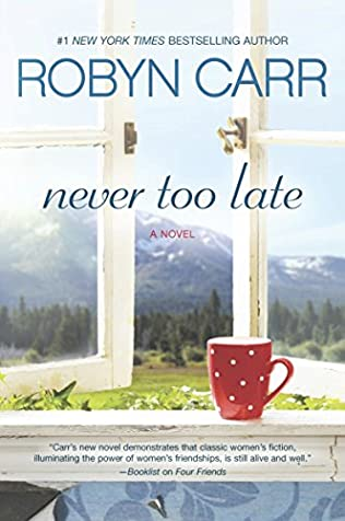 book cover of Never Too Late