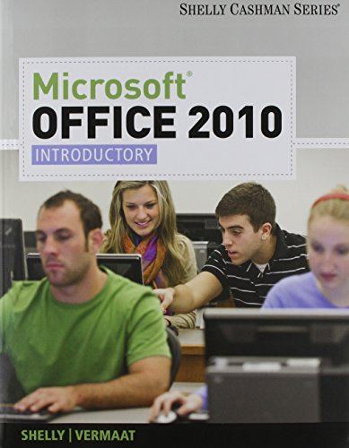 Bundle: Microsoft Office 2010: Introductory + 180 Day Subscription + Video DVD +SAM 2010 for Microsoft Office 2010 Cours