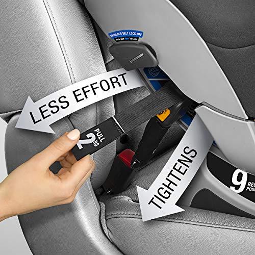 51Kvlh5mK7L - Chicco NextFit Sport Convertible Car Seat, Black