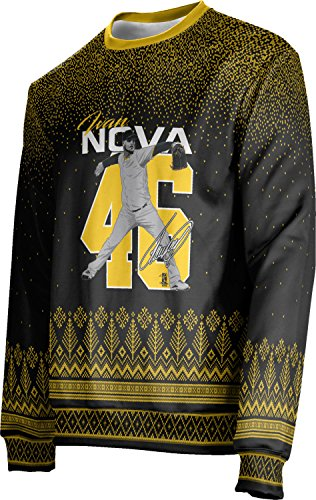 ProSphere Ivan Nova Pittsburgh 46 Unisex Sweater - Blizzard - Fashion Nova Sp