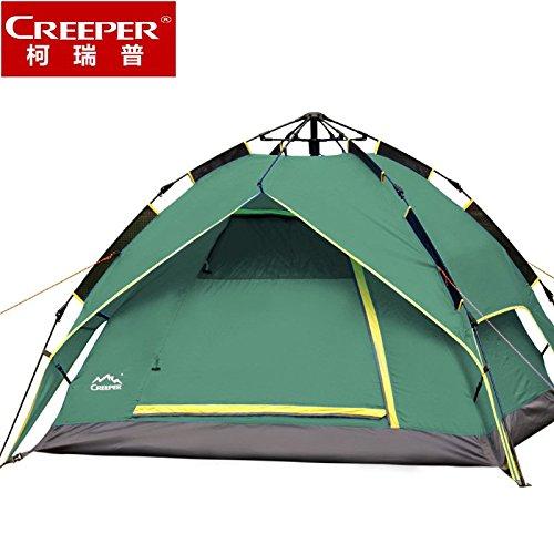 FUDA tent Neue Outdoor-Zelt double double Dual automatische Fr¨¹hlings-regen Saison-Zelt Zelt 3-4 Personen