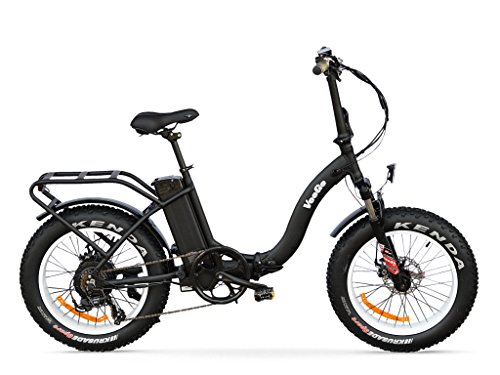 Ride Scoozy Veego Folding Fat Tire Electric Bicycle With A