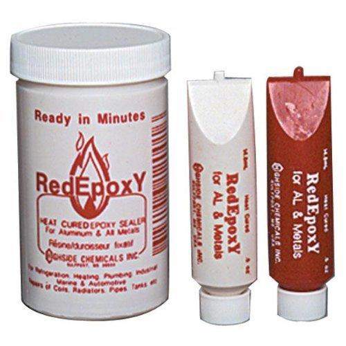 12001 Red Epoxy (16 oz Brush Top Plastic Jar)