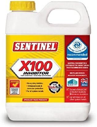 Sentinel 389100 389100 X100 Inhibidor de 1 L, claro