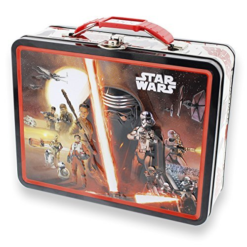 (Star Wars Large Embossed Lunch Box - The Force Awakens)