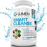 Smart Cleanse - 15 Day Gentle Detox & Colon Cleanse Weight Loss Formula - Boost Immune System & Improve Digestive Health - Includes Acidophilus, Aloe Vera, Psyllium Husk, & Bentonite Clay