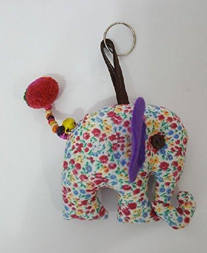 Amazon.com: Llavero con diseño de elefante de muñeca, mezcla ...