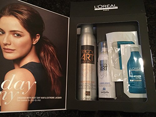 Extreme Masque (Loreal Get Tousled Texture Next Day Hair,Extreme Lacquer, Keratin Shampoo,Masque)