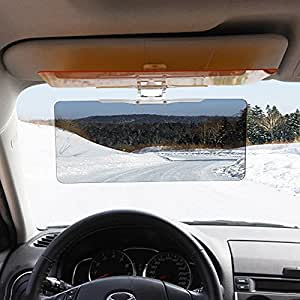 gvdor car sun visor extender hd uv anti uv anti glare car sun visor flip down shield. Black Bedroom Furniture Sets. Home Design Ideas