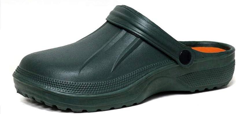 Zuecos de goma EVA para hombre y mujer, para jardín, hospital y chef, color, talla 39 EU: Amazon.es: Zapatos y complementos