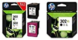 HP 302XL/302 Combo Pack High Yield Black Original & Combo pack