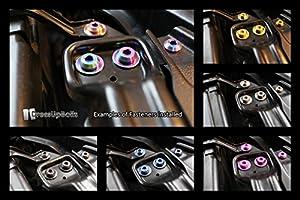 Mitsubishi evo 9 Engine Bay Titanium Dress Up Bolt Kit 2006-2007 evo IX