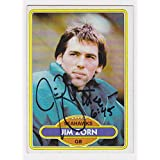 Jim Zorn Autographed Signed 1980 Topps Card