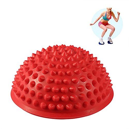 Massage Boule à Picots de Yoga Pieds Masser Yoga Balance Équilibre Ball Diamètre 16 cm pour Musculation Soulagement de Douleur
