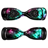 MightySkins Protective Vinyl Skin Decal for Swagtron T5 Hover Board Self Balancing Smart Scooter wrap cover sticker skins Glow Stars