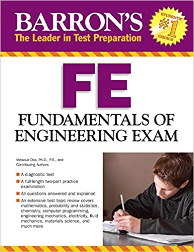 barrons fe exam 3rd edition fundamentals of engineering exam barrons fe fundamentals of engineering exam 3rd edition