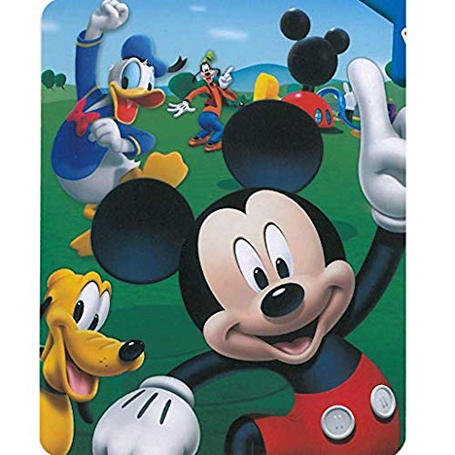 Mickey Blanket Mouse (Mickey Mouse - Playhouse 40x50 Mink Style Blanket in Gift Box)