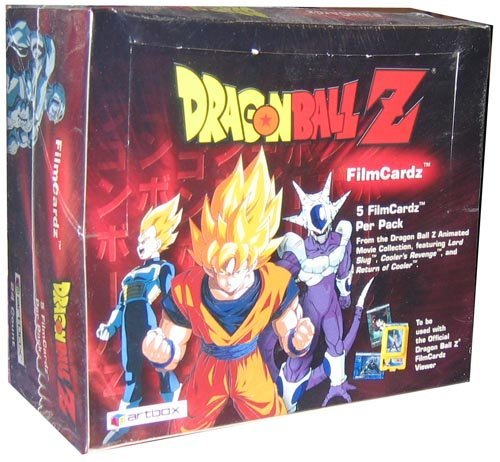 Series 1 Trading Cards HOBBY Box Japanese Dragonball Z 24P10C