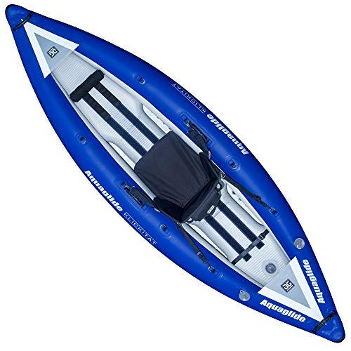 Aquaglide Fins - Aquaglide Klickitat 9.5 HB Inflatable Kayak